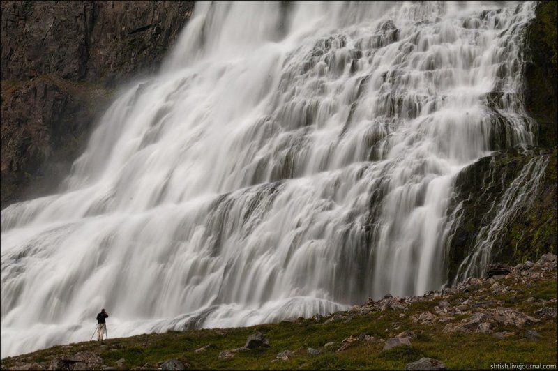 исландия Водопад Dynjandiphoto preview