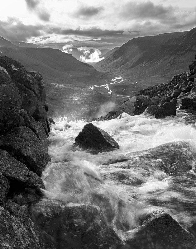 плато путорана, река, горы, таймыр, долина, водопад 7.photo preview