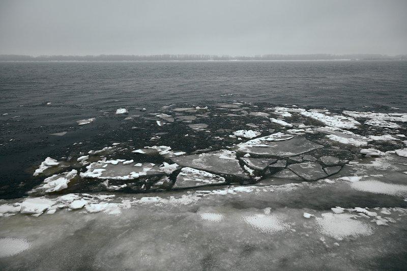 река, лед, зима, андрейларионов, пейзаж photo preview