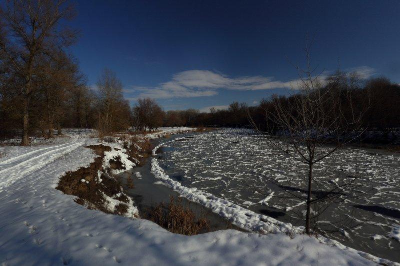 зима, мороз, снег, река, февраль Зимаphoto preview