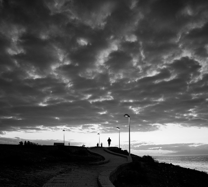 тенерифе, закат, океан photo preview
