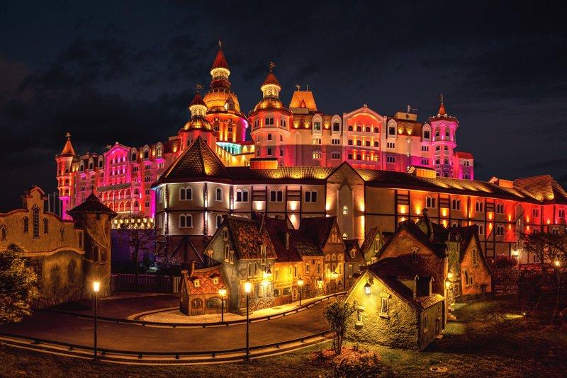 Сочи-парк, отель-замок \