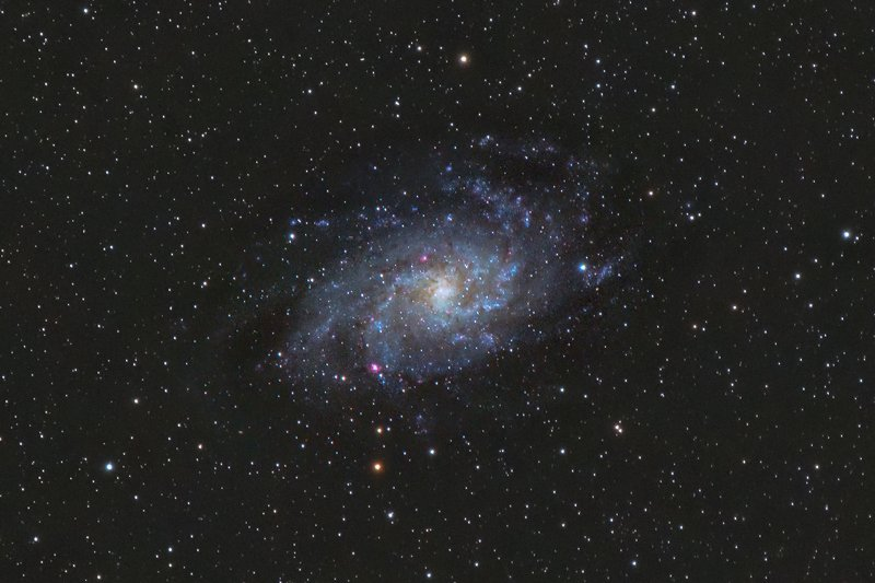 astrophotography M33 - Triangle galaxyphoto preview
