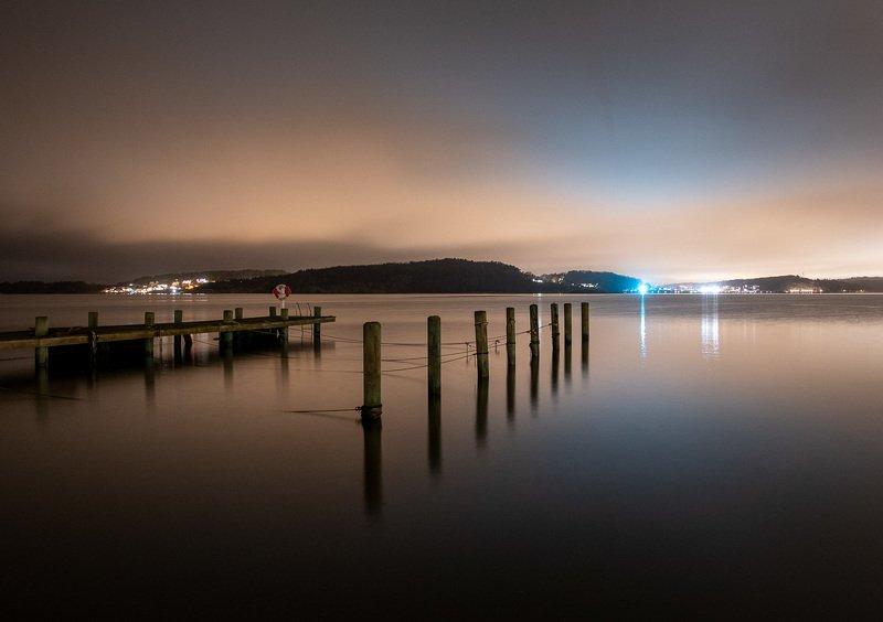 Тихая ночь в проливе Каттегатphoto preview