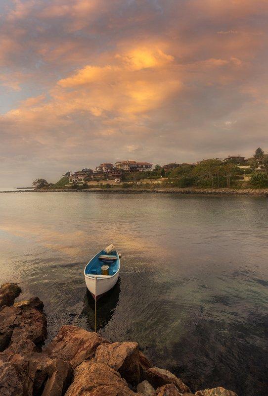 болгария закат черное море Закат на Черном мореphoto preview