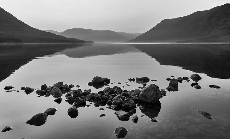 плато путорана, река, горы, таймыр photo preview