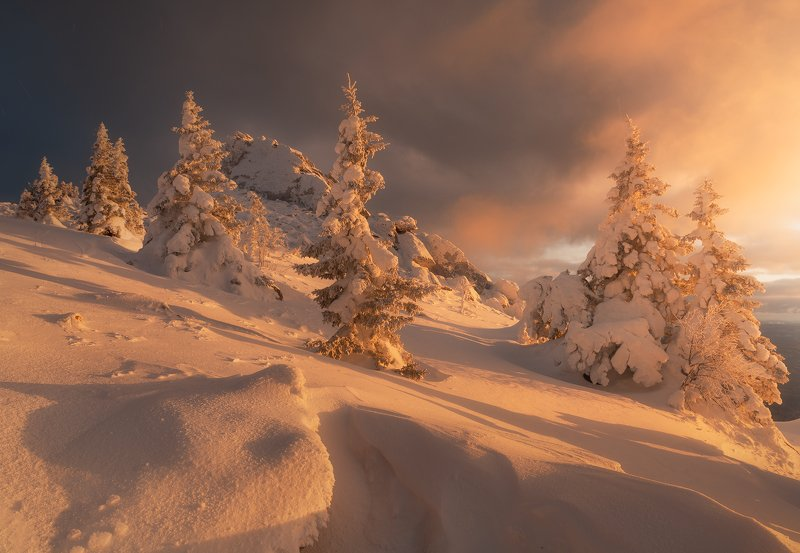 #зюраткуль, #рассвет, #уральскиегоры, #зима2020, #урал, Уралphoto preview