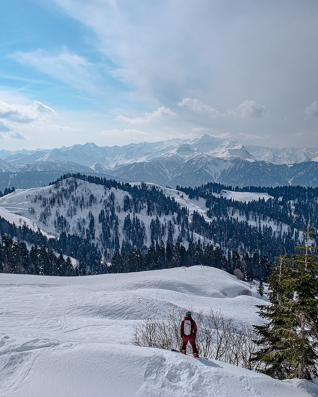 krasnaya polyana, sochi, mountains, roza khutor, красная поляна, сочи, горы, роза хутор [freeride]photo preview