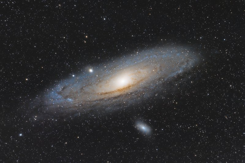 astrophotography M31 - Andromeda galaxyphoto preview