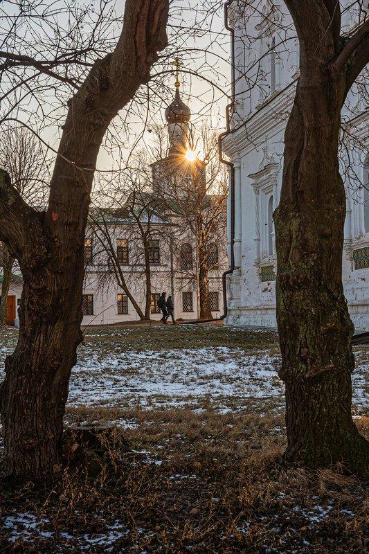 кремль, рязань, вечер Вечер в монастыреphoto preview