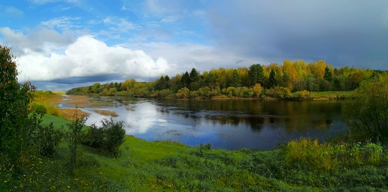 север, устья, чесноково, осень ***photo preview