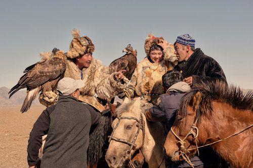 Закулисье фестиваля Золотого орла в Монголии
