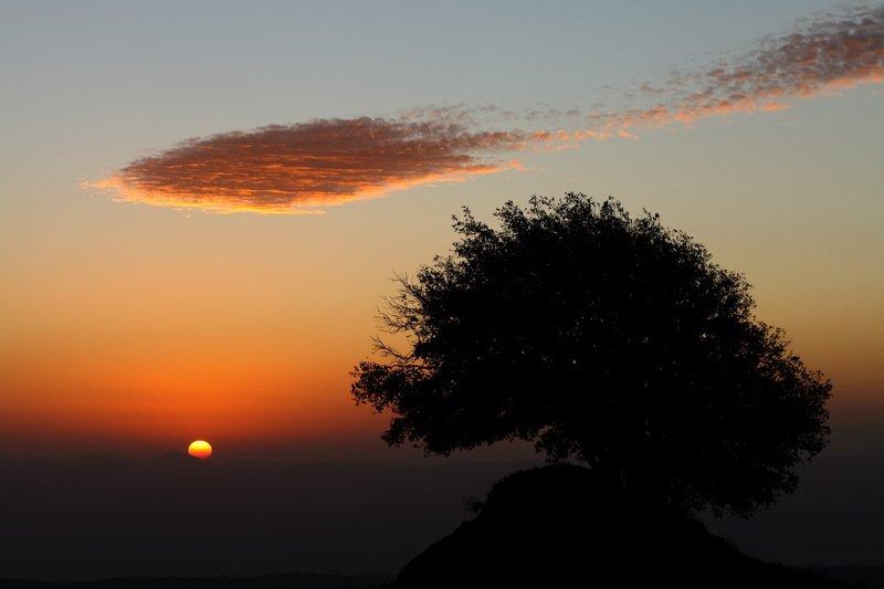israel, закат, израиль, солнце, голанские высоты, голаны Между Азией и Африкойphoto preview