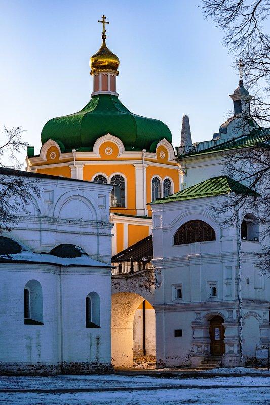 кремль, рязань, вечер На княжьем подворьеphoto preview