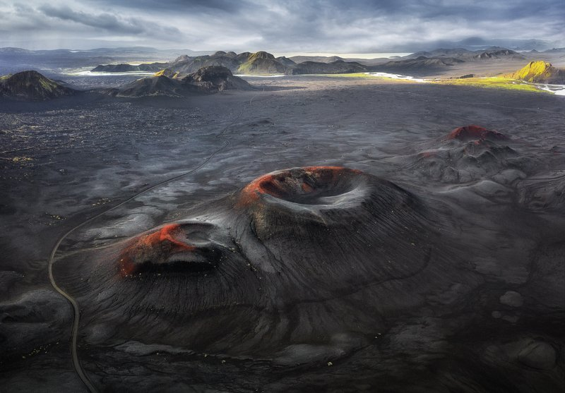 ландманналаугар, исландия, кратер Вулканы Исландииphoto preview
