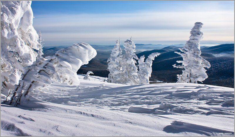горы, шерегеш, горная шория, зима, сибирь, фрирайд ... и фрирайдер.photo preview