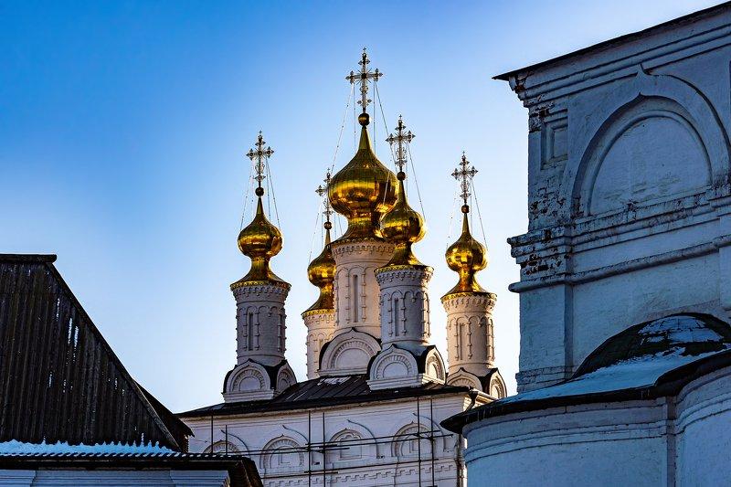 кремль, рязань, вечер Златоверхая Рязаньphoto preview