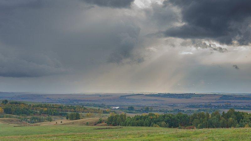осень, облака, дождь  Перед грозой.photo preview