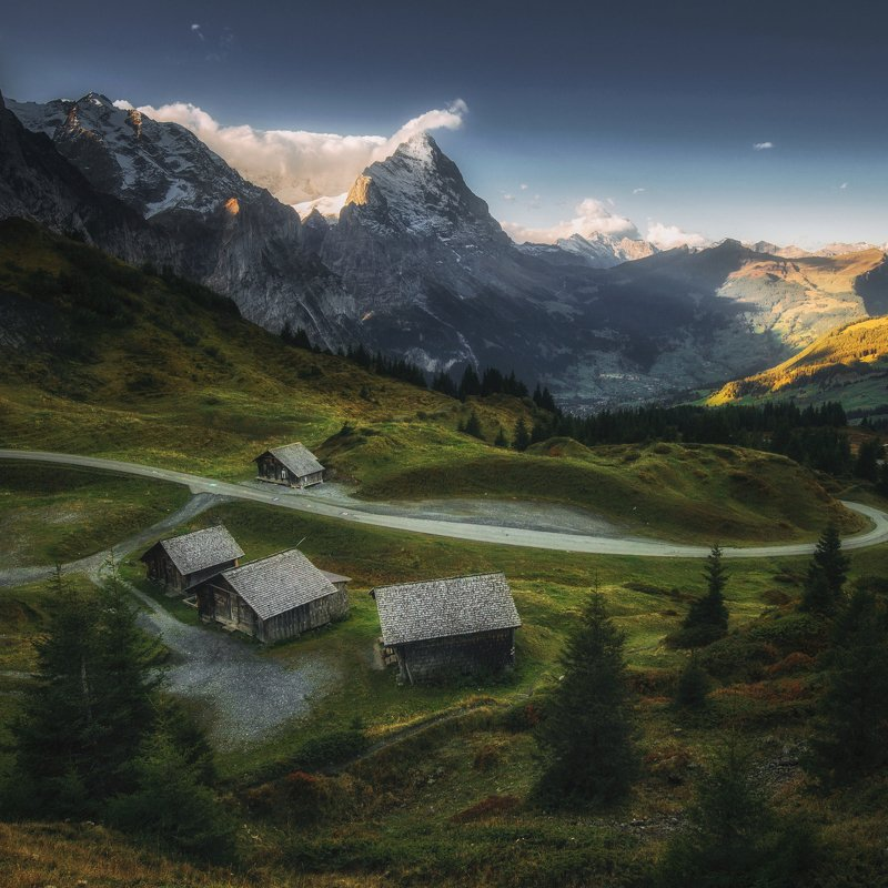 alps,mountains,swiss,morning,eiger,bernesealps,grindelwald,suisse Eigerphoto preview