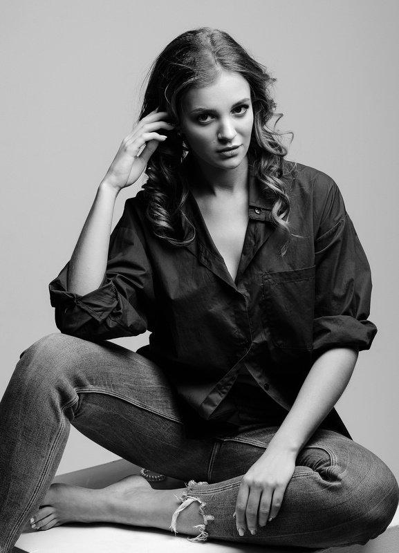 портрет, девушка, фотосессия, чб, фотограф, коекин константин, ковров, portrait, art, bnw, koekinphoto * * *photo preview