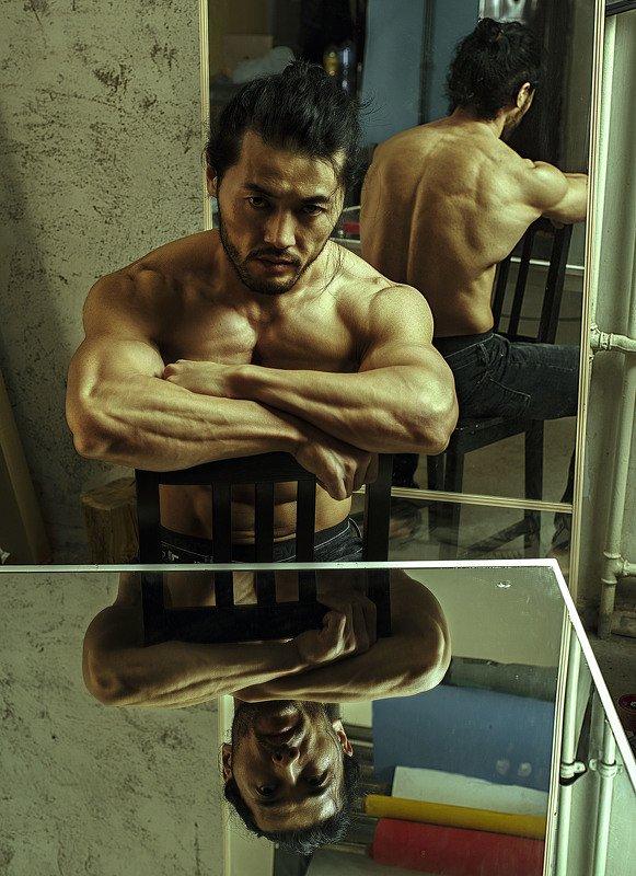 Mongolian actor Batturphoto preview