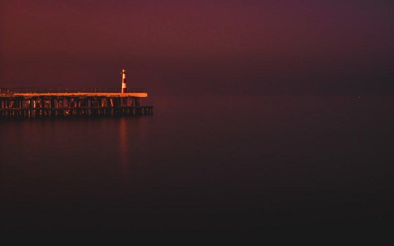 закат,пейзаж,маяк,крым,алушта ***photo preview
