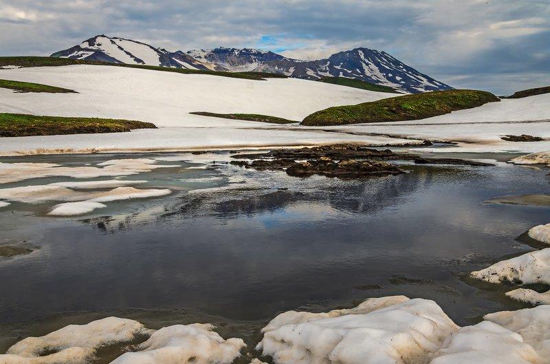 камчатка, путешествия, туман, весна, горы Весна в горах Камчаткиphoto preview