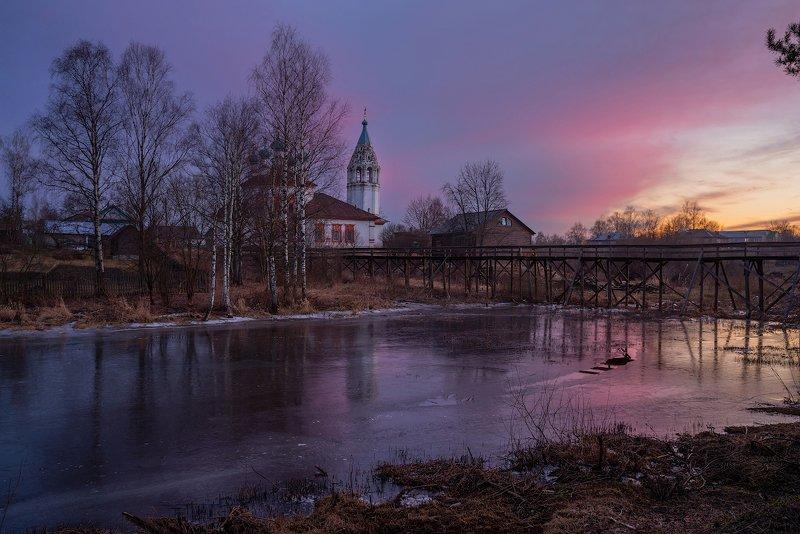 весна , река, март, устюжна, река, солнце про Весну. ...) г. Устюжнаphoto preview