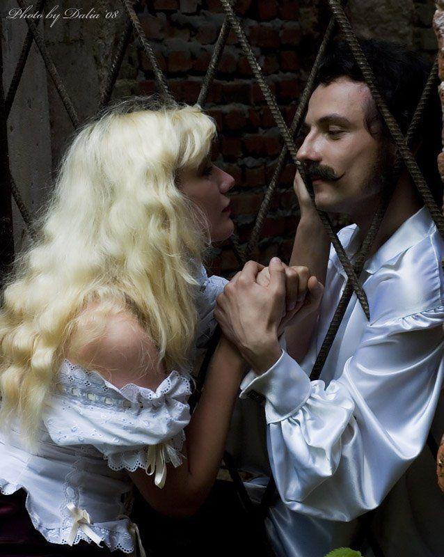 гусар, тюрьма, свидание Я за тобой хоть в омут, хоть в Сибирь...photo preview
