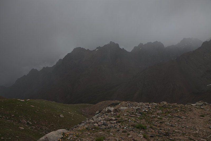Сумрачные горы.photo preview