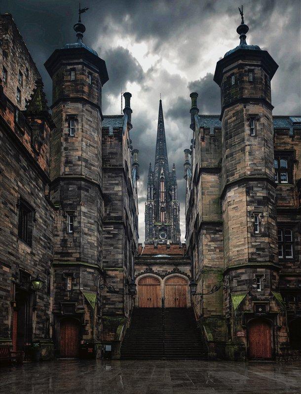 город, архитектура, шотландия, эдинбург Has it gonephoto preview