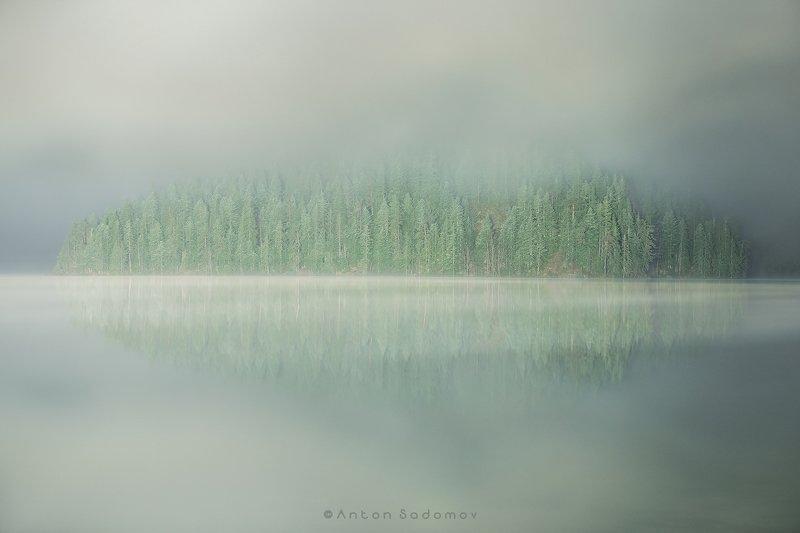 дурмитор, черногория, озеро, туман Национальный парк Дурмитор, Черногорияphoto preview