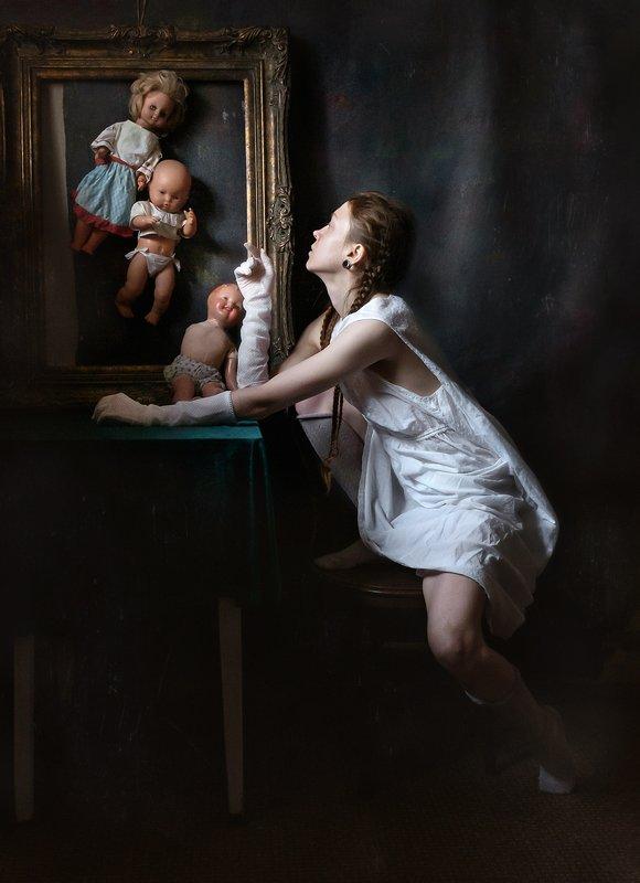 портрет, арт портрет, арт Кукольные историиphoto preview