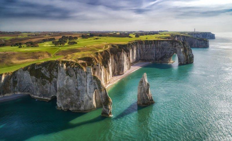 этрета,нормандия,франция,etretat,normandy,france,beach,landscape,ocean Etretatphoto preview
