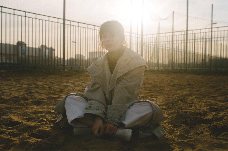 пленка, nikon, f100, fujifilm Пляжницаphoto preview