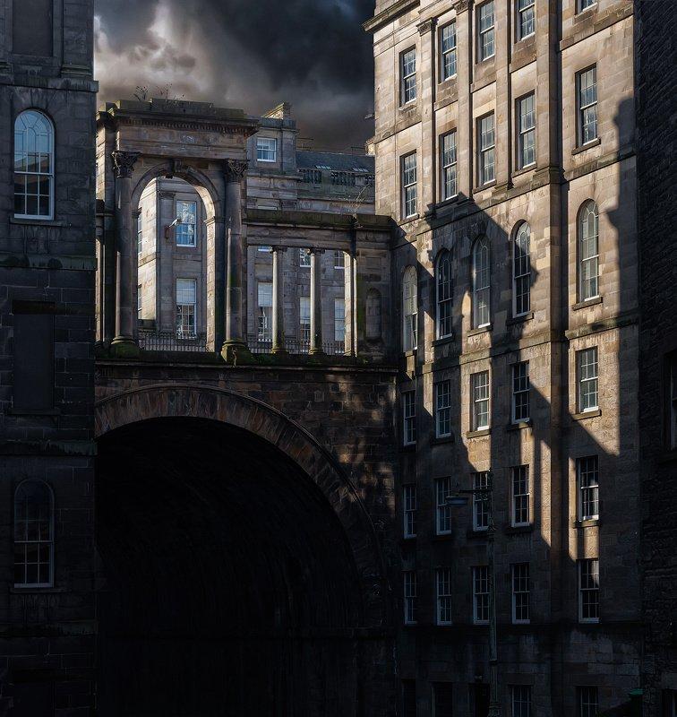 город, архитектура, шотландия, эдинбург Покинутыйphoto preview