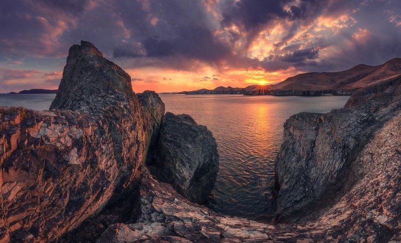 вечер, море, скалы ***photo preview