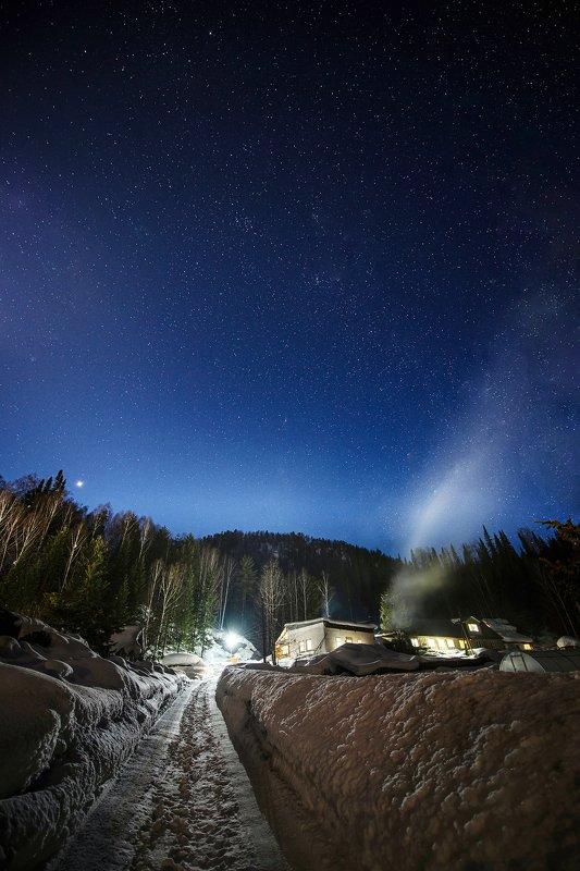 Ночь в Турочакеphoto preview