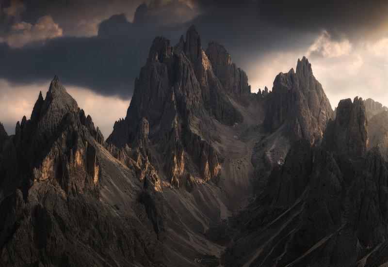 #landscape #mountains #dolomites #italy #sunset \