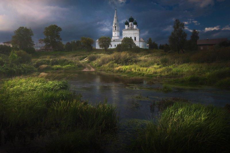 Вечерний свет в Осенево photo preview