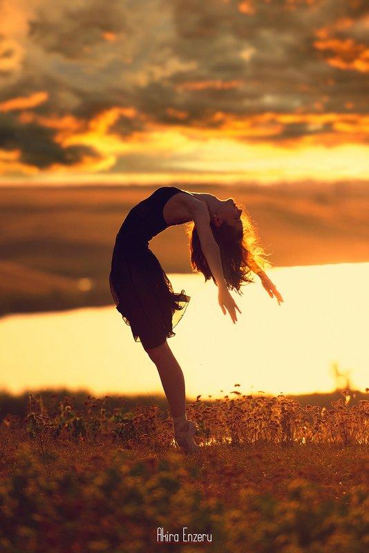 ballet, ballerina, dance Летний Закатphoto preview
