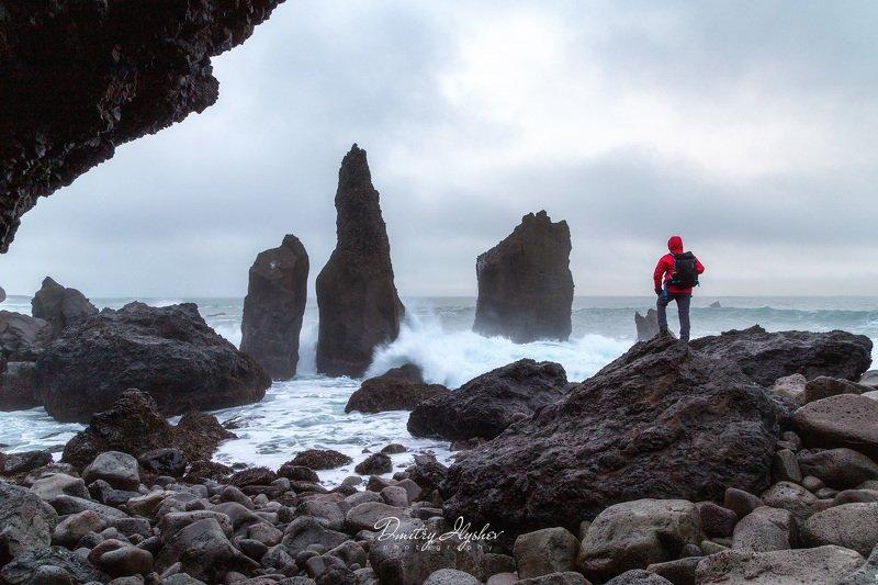 исландия, пейзаж, голубой час, утро, скалы, океан, шторм, природа, фототур, илышев дмитрий, илышев фототур, западная исландия Исследовательphoto preview