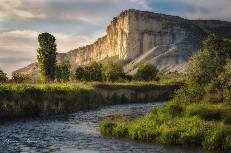 крым, роман любимский, природа, пейзаж, белая скала, россия Золотой час пейзажаphoto preview
