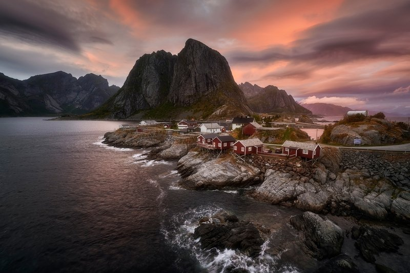 reine, lofoten, landscapes Classic viewphoto preview