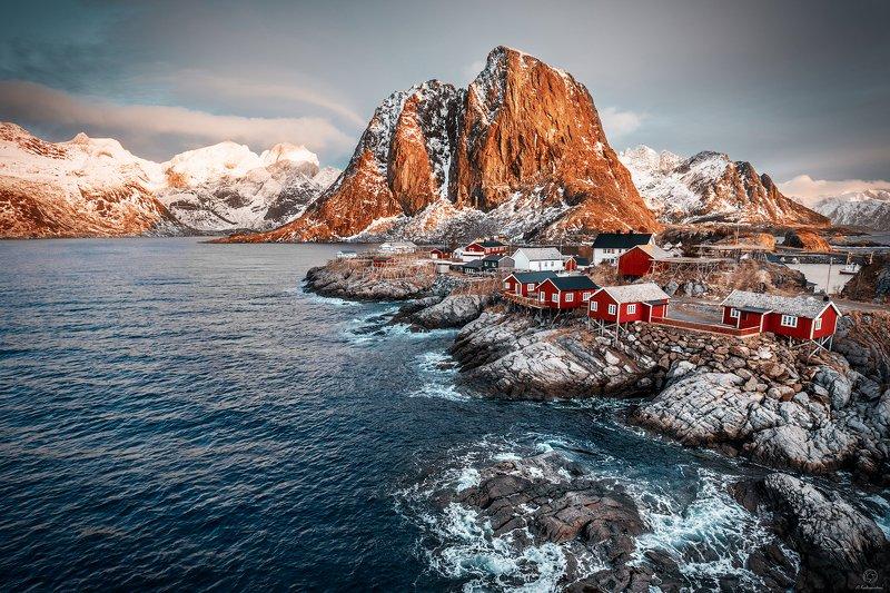 пейзаж, природа, путешествие, горы, вода Hamnoy / Norwayphoto preview