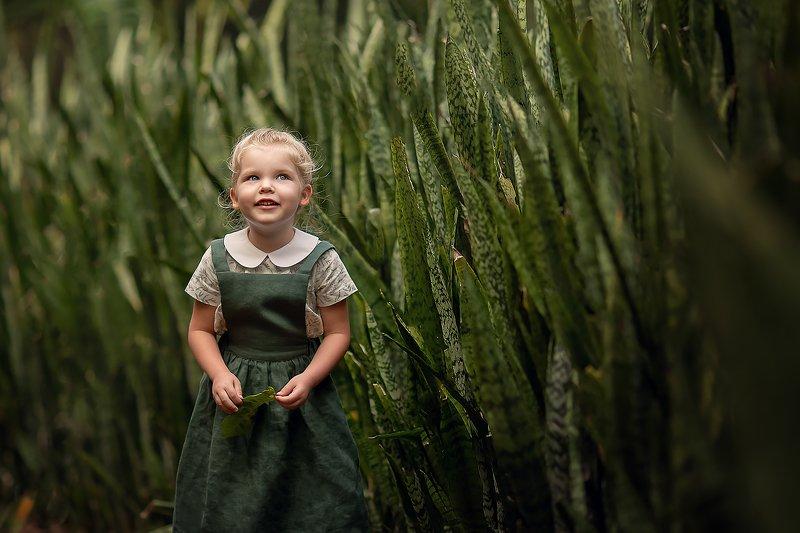 девочка кусты ребенок детское фото ***photo preview