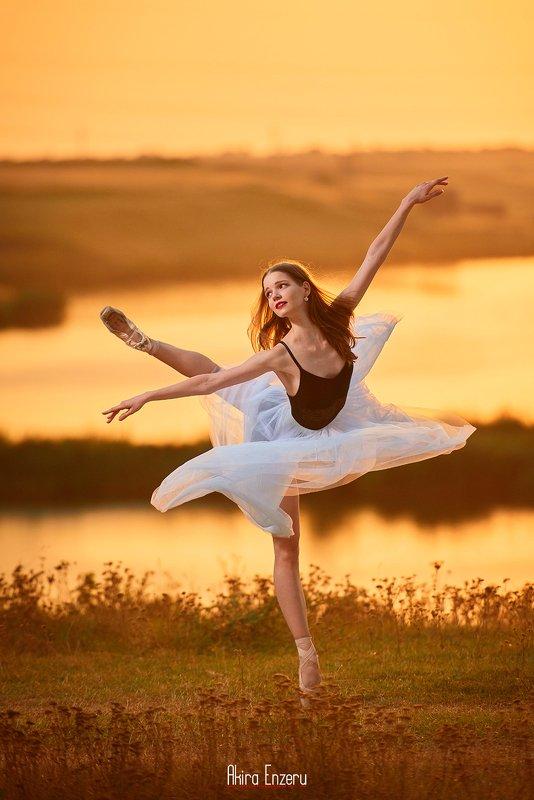 ballet, ballerina, dance Летний Закат IIphoto preview