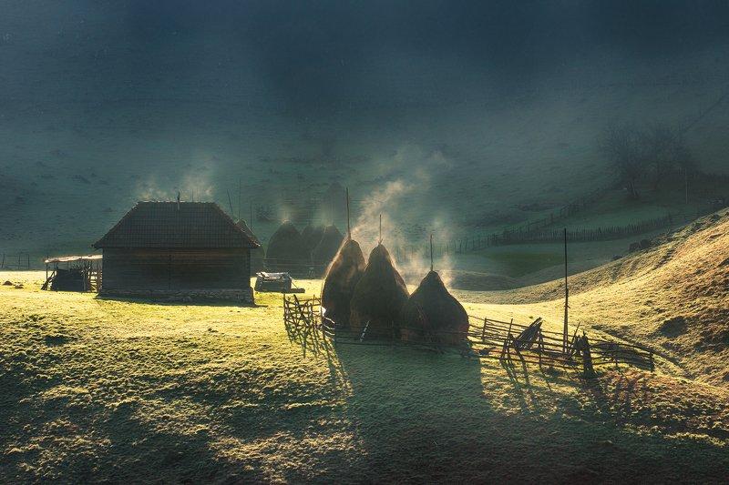 Сказочное утро в Румынии...photo preview