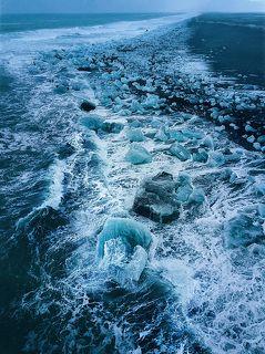 После заката, Исландия