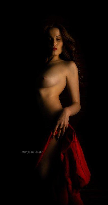 девушка портрет ню Игра светаphoto preview